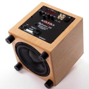 MJ Acoustics subwoofer speaker made in england