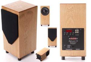 MJ Acoustics subwoofer speaker made in england woofer bass
