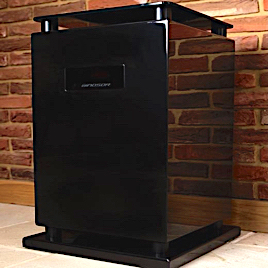 MJ Acoustics subwoofer speaker made in england woofer bass high end audio reference